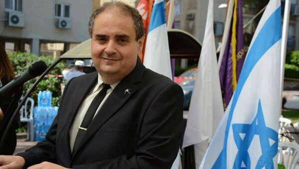 Журналист, политический и экономический обозреватель, радиоведущий Цви Зильбер (Израиль) - Sputnik Беларусь