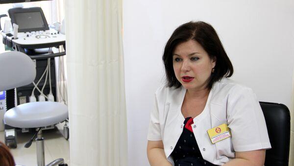 Заведующая отделением планирования семьи и репродукции медицинского центра Лодэ Елена Панкратова - Sputnik Беларусь