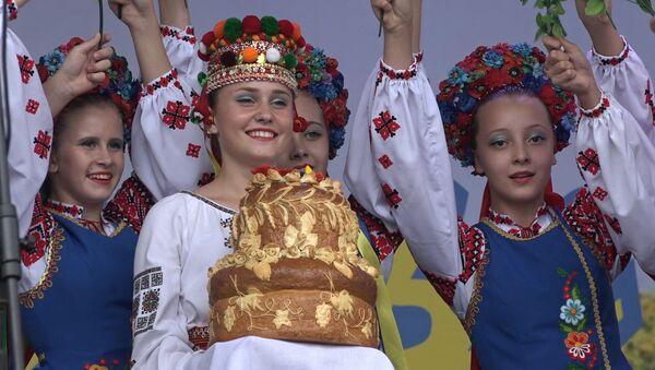 Дзень культуры Украіны прайшоў у цэнтры Мінска - Sputnik Беларусь