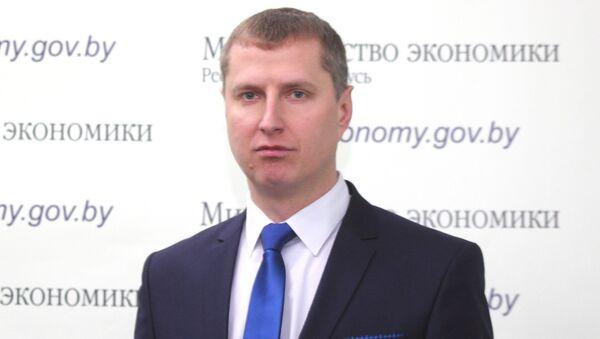 Министр экономики Республики Беларусь Дмитрий Крутой - Sputnik Беларусь