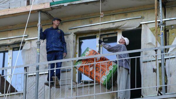 Рэканструкцыя жылых будынкаў - Sputnik Беларусь