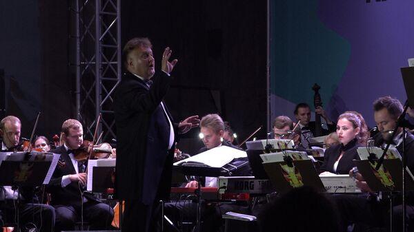 Президентский оркестр Беларуси впервые принял участие в проекте Классика у Ратуши - Sputnik Беларусь
