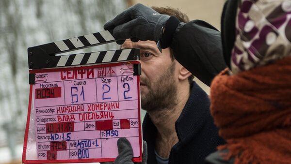 Актер Константин Хабенский на съемках фильма - Sputnik Беларусь