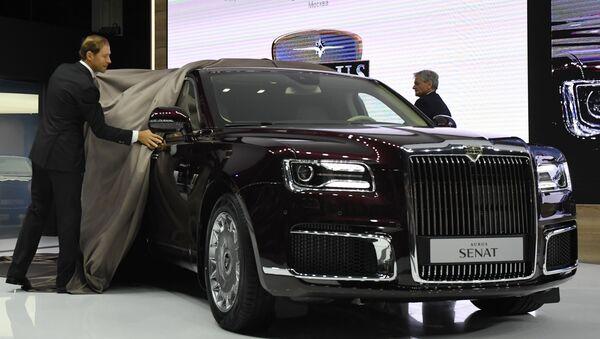 В Москве презентовали седан и лимузин Aurus - Sputnik Беларусь