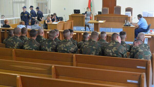 Суд по делу солдата-срочника коржича - Sputnik Беларусь