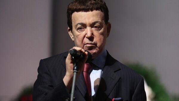 Первый заместитель председателя комитета Государственной Думы по культуре Иосиф Кобзон - Sputnik Беларусь