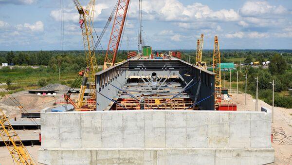 Реконструкция моста в Житковичах - Sputnik Беларусь