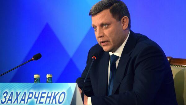 Глава Донецкой народной республики Александр Захарченко, архивное фото - Sputnik Беларусь