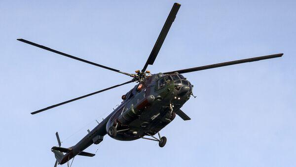 Вертолет МИ-8 во время авиашоу - Sputnik Беларусь