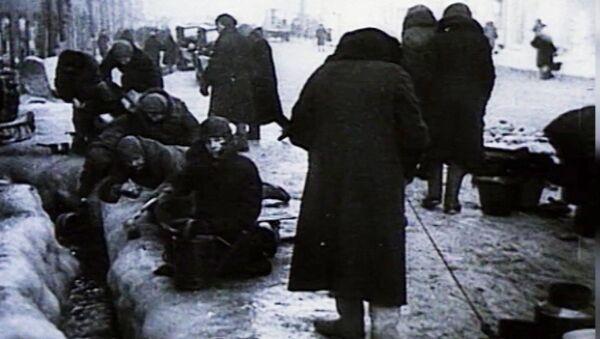 Блакада Ленінграда: як трымаўся Горад-герой, архіўныя кадры - Sputnik Беларусь
