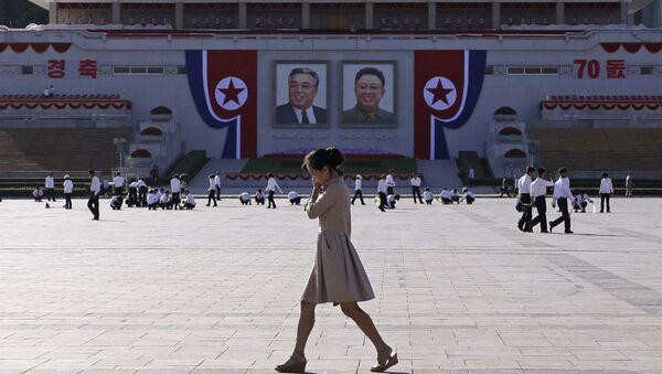 Северная Корея готовится к 70-летию - Sputnik Беларусь