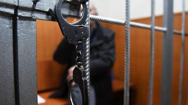 Арестованный в суде - Sputnik Беларусь
