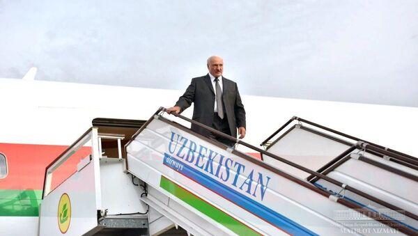 Президент Беларуси в Узбекистане - Sputnik Беларусь