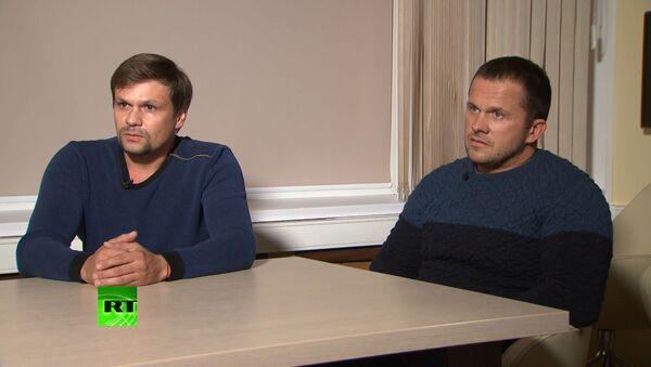 Петров и Боширов: из-за действий британских властей мы опасаемся за нашу жизнь - Sputnik Беларусь