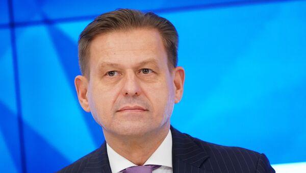 Генеральный директор АО Национальная система платежных карт РФ Владимир Комлев - Sputnik Беларусь