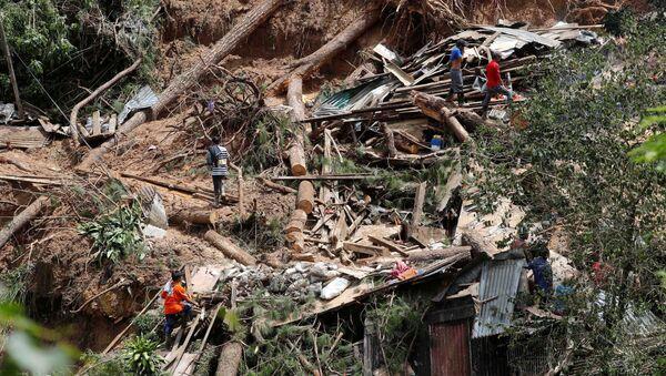 Наступствы тайфуна на Філіпінах - Sputnik Беларусь