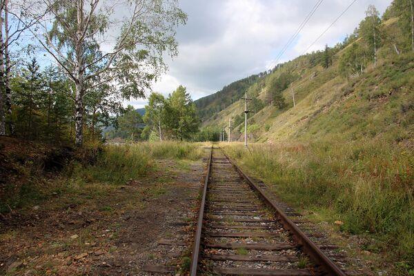 Сейчас по этому участку Байкальской железной дороги поезда если и ездят, то только туристические.  - Sputnik Беларусь