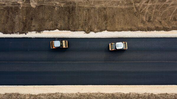 Строительство автомобильных дорог - Sputnik Беларусь