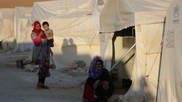 Беженцы в Сирии, архивное фото - Sputnik Беларусь
