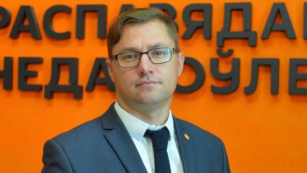 Председатель правления Ассоциации содействия интеграции, международному социально-культурному и деловому сотрудничеству Сергей Лущ - Sputnik Беларусь