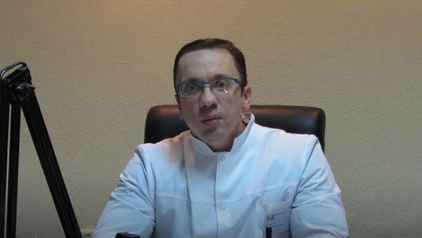 Заместитель главного врача Могилёвской больницы №1 Алексей Щербинский  - Sputnik Беларусь