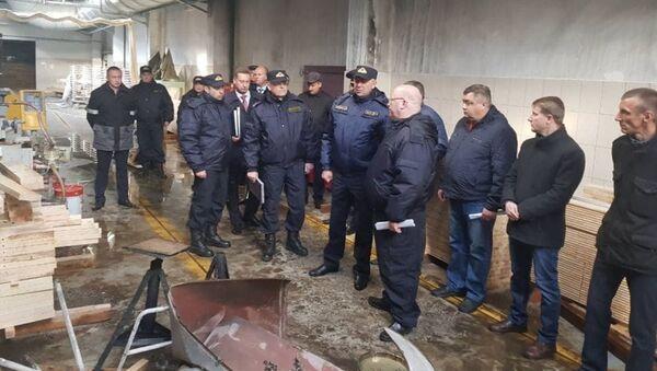 Глава СК Беларуси Иван Носкевич на Могилевдреве - Sputnik Беларусь