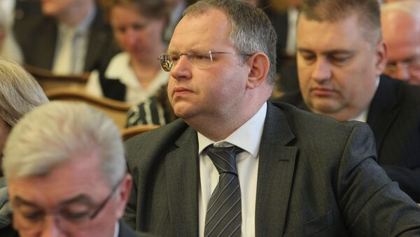 Міністр фінансаў Беларусі Максім Ермаловіч - Sputnik Беларусь