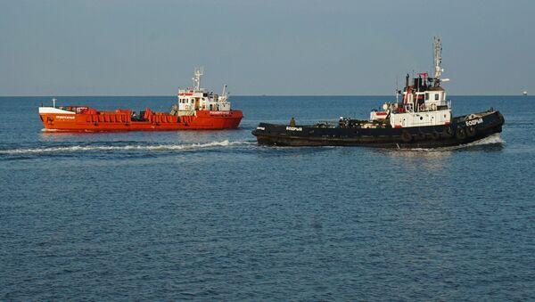 Судоходство в Калининградском морском канале и на рейде порта Балтийск - Sputnik Беларусь