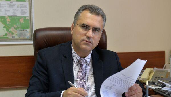 Первый заместитель председателя комитета по здравоохранению Мингорисполкома Дмитрий Чередниченко - Sputnik Беларусь