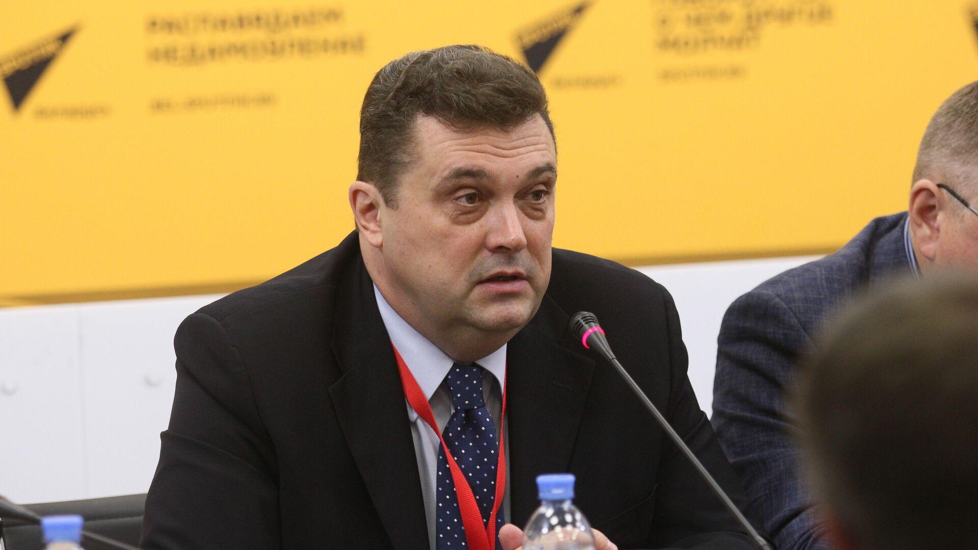 Председатель Союза журналистов России Владимир Соловьев  - Sputnik Беларусь, 1920, 03.10.2021