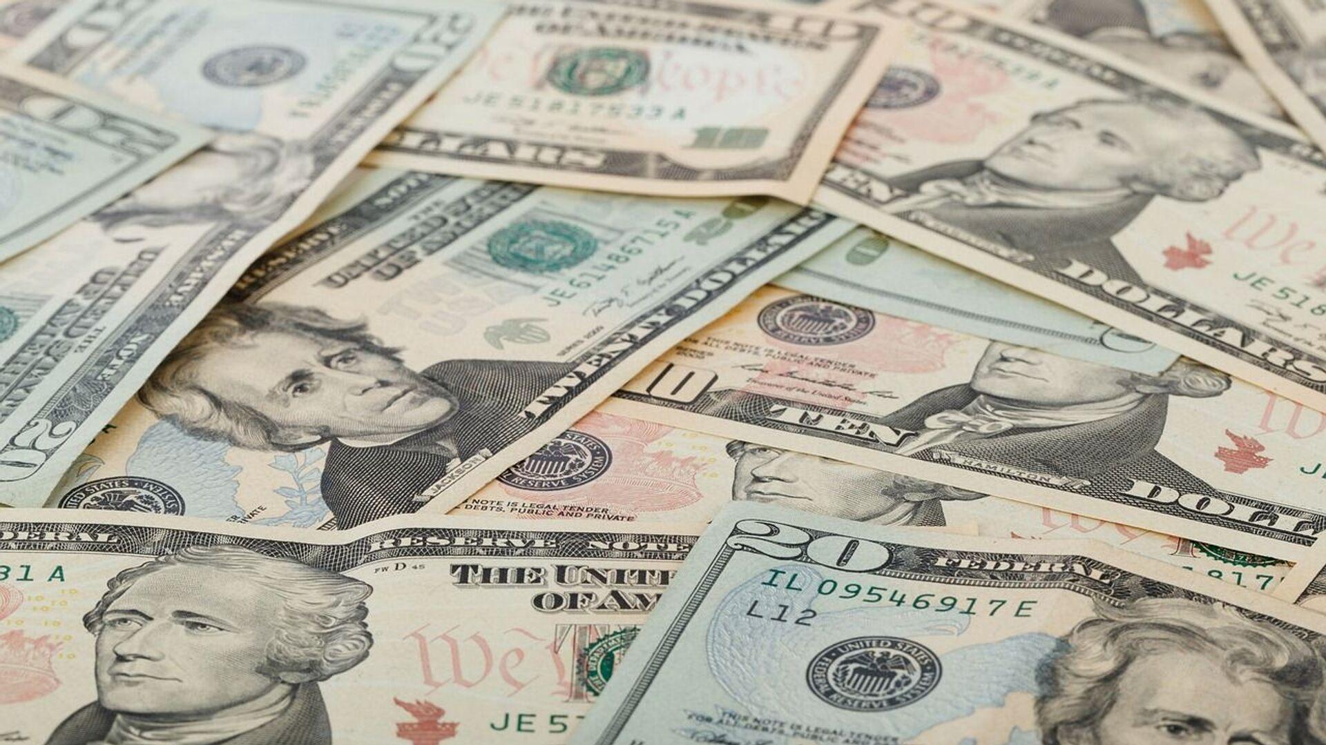 Доллары, архивное фото - Sputnik Беларусь, 1920, 01.10.2021