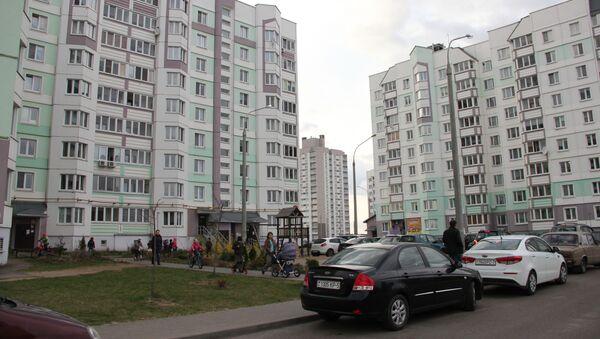 Столичный микрорайон Сокол находится в 25 километрах от города - Sputnik Беларусь