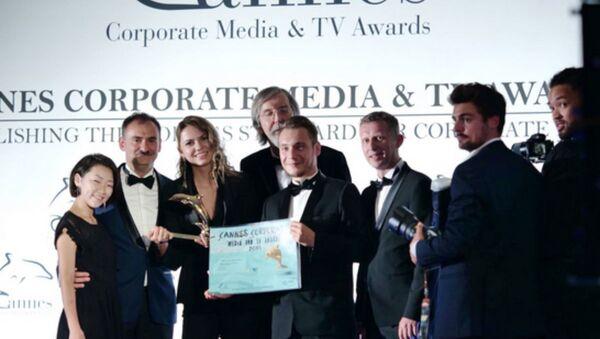 Корпоративный фильм Гонка континентов завоевал две награды фестиваля The Cannes Corporate Media & TV Awards - Sputnik Беларусь