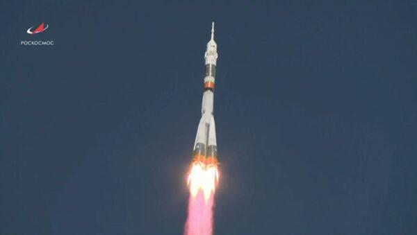 Аварыя Саюза: відэа старту ракеты з экіпажам МКС - Sputnik Беларусь