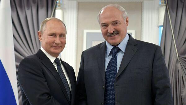 Визит президента РФ В. Путина в Могилев - Sputnik Беларусь
