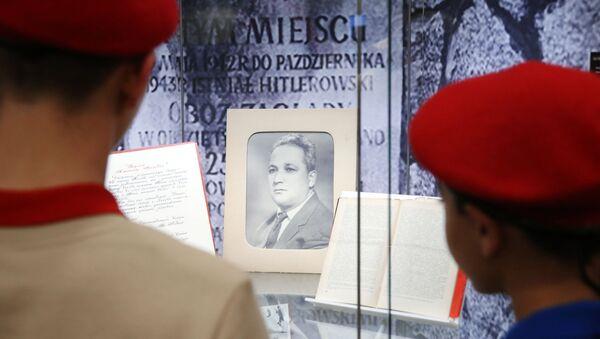 Выставка Александр Печерский как символ сопротивления фашизму - Sputnik Беларусь