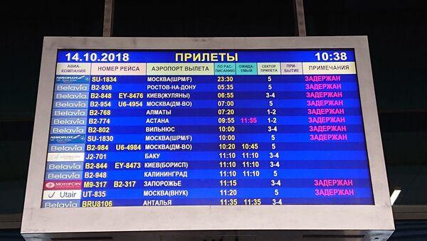 Расписание авиарейсов, прибывающих в Национальный аэропорт Минск - Sputnik Беларусь