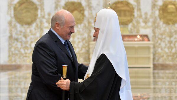 Александр Лукашенко встретился с Патриархом Кириллом - Sputnik Беларусь