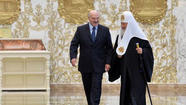Лукашэнка павіншаваў з днём нараджэння Патрыярха Кірыла - Sputnik Беларусь