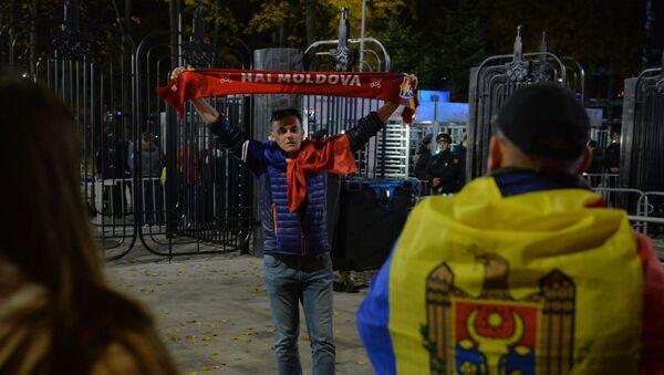 Молдавские болельщики приехали на Динамо поддержать команду - Sputnik Беларусь