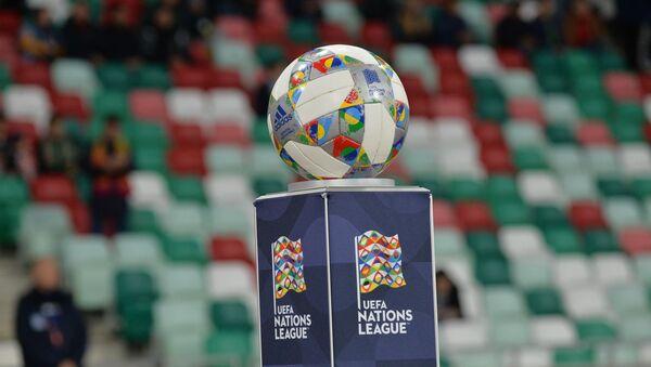 Официальный мяч Лиги Наций - Sputnik Беларусь