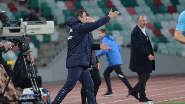 Главный тренер сборной Молдовы по футболу Александр Спиридон - Sputnik Беларусь