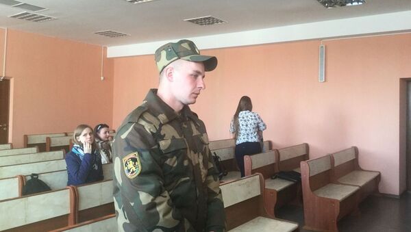 Обвиняемый Сергей Крупа - Sputnik Беларусь
