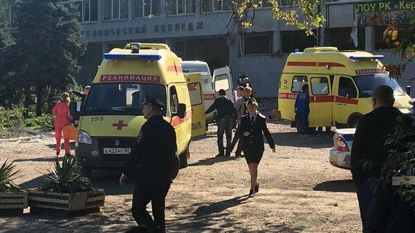 Нападение на керченский колледж - Sputnik Беларусь