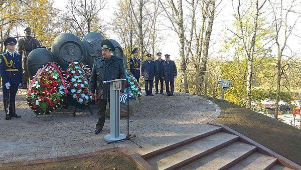 Открытие памятника десантникам в Витебске - Sputnik Беларусь