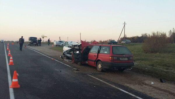 Авария в Миорском районе - Sputnik Беларусь