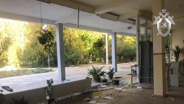 Следователи СК РФ осмотрели место происшествия в керченском колледже - Sputnik Беларусь