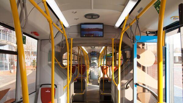 Салон автобуса МАЗ 219 - Sputnik Беларусь