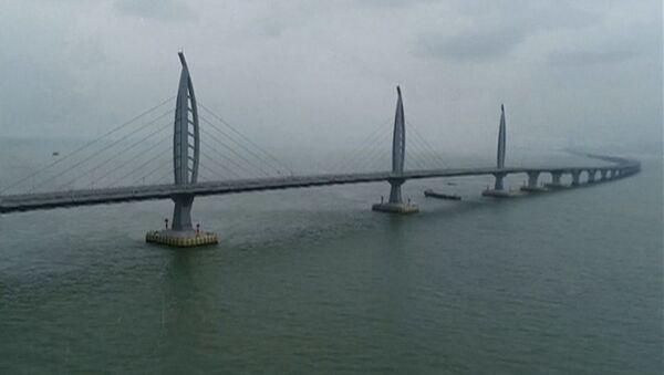 Як выглядае кітайскі мост-рэкардсмен - Sputnik Беларусь