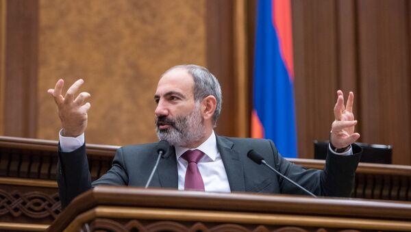 Парламент Армении отклонил кандидатуру Никола Пашиняна на пост премьер-министра - Sputnik Беларусь